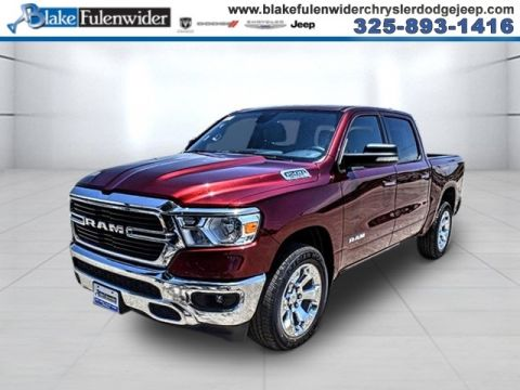 New 2020 RAM 1500 Big Horn/Lone Star 4x2 Crew Cab
