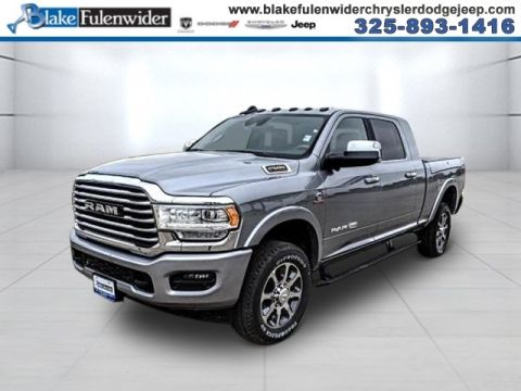 New 2020 RAM 2500 Laramie Longhorn With Navigation